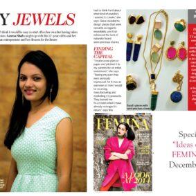 Hyperbole Accessories for Femina Magazine , December 2014